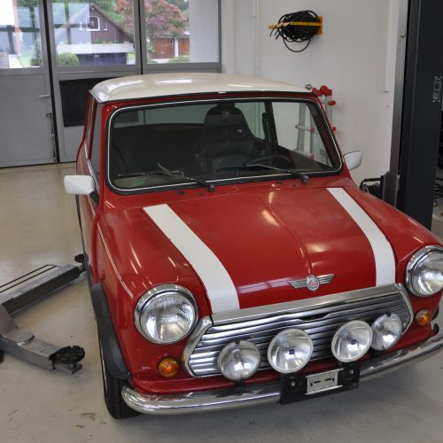 Vollrestauration Mini Cooper